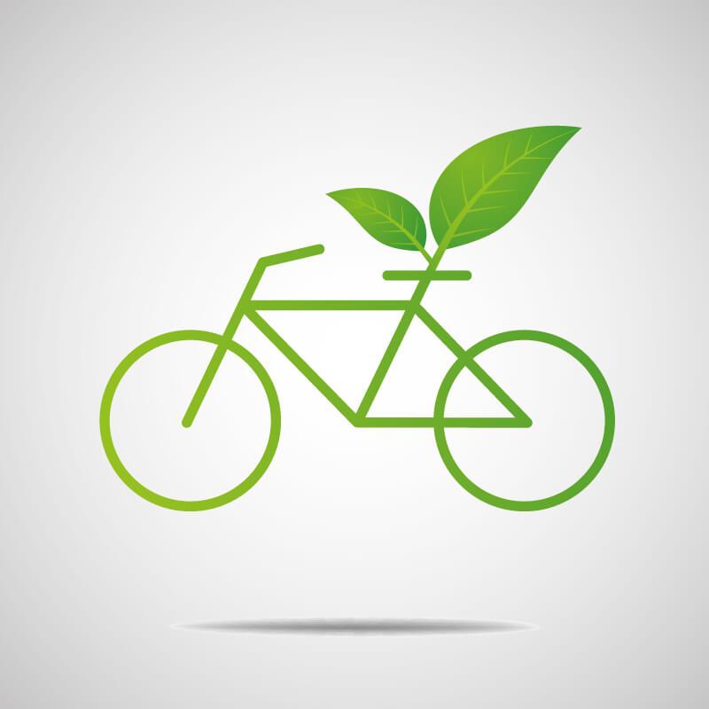 Cykel som ett grönt transportmedel