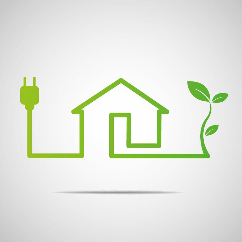 Grön el till hus