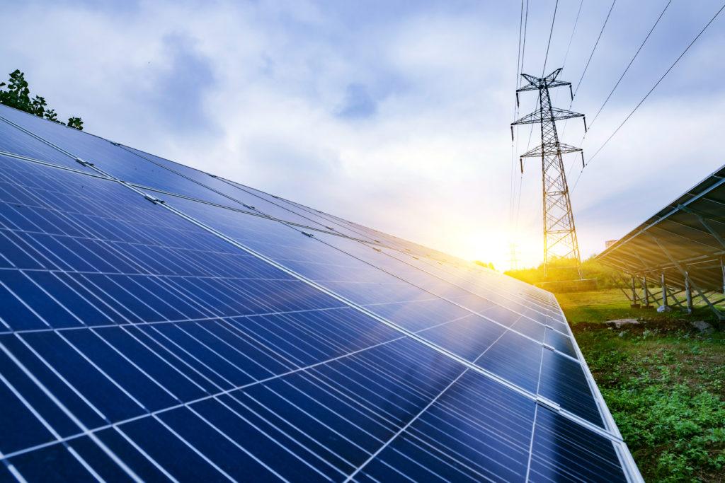 Solel och kraftledning