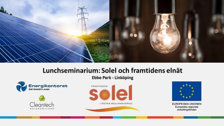 Solel Och Framtidens Elnät 6 Nov Ebbepark