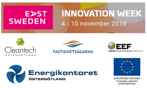 Innovationweek Logga Alla Samarbete