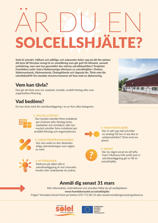 Informationsblad Solcellstävling 2020